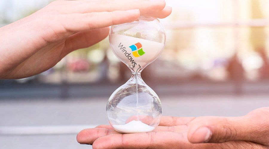 Fin de soporte de Windows 7 y Windows 8 Server