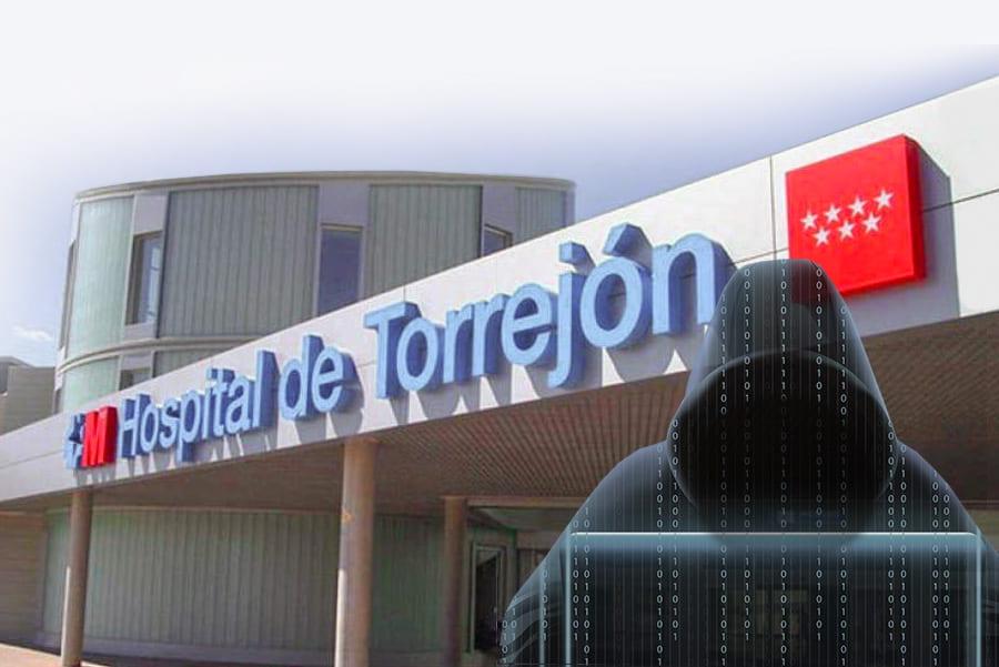 Ransomware virus hospital de Torrejón