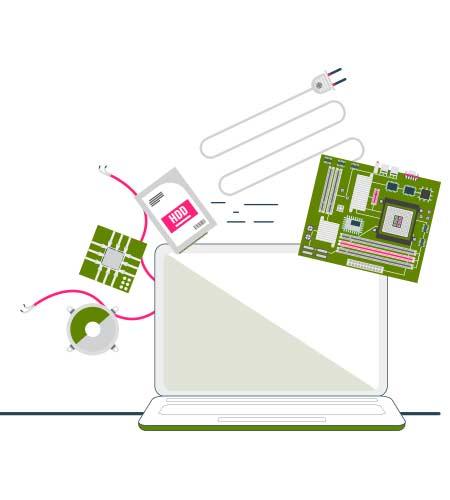 Suministro e instalación de equipos informaticos