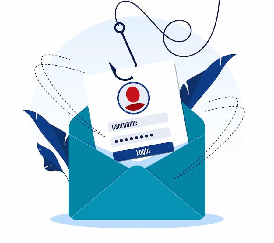 Phishing, emails fraudulentos.